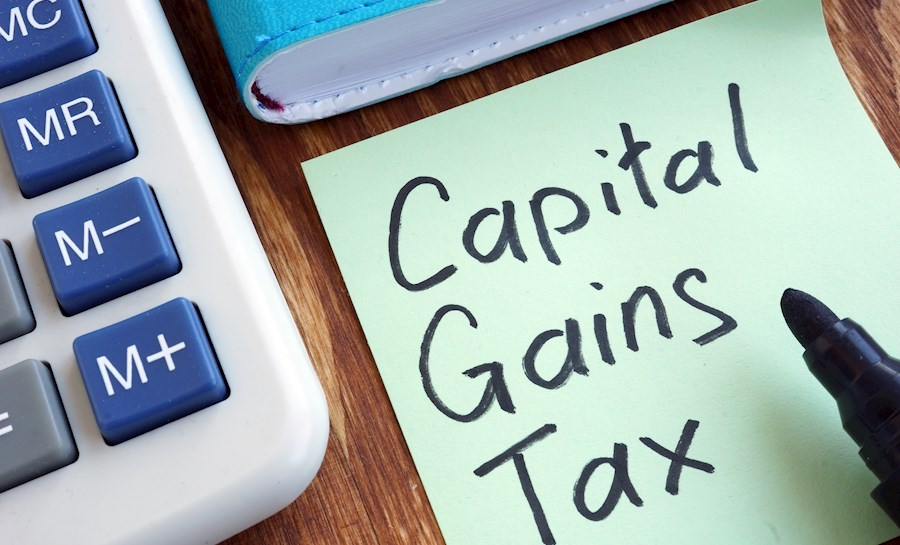 Capital Gains tax on sticky note